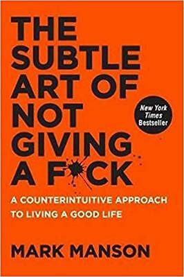 New The Subtle Art of Not Giving a Fuck Fck F*ck Fk by Mark Manson PDF