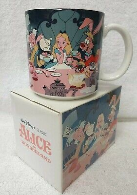Vintage Walt Disney's Classic, ALICE IN WONDERLAND Coffee Mug In Box Made In...