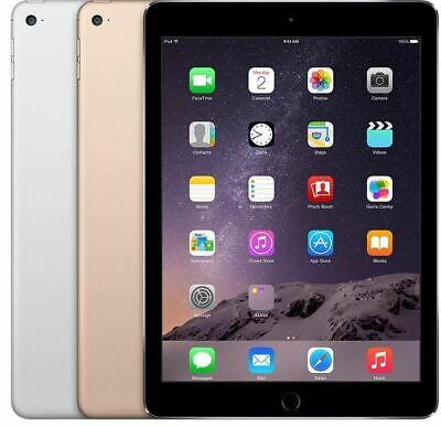 """Apple iPad Air 2nd Generation 9.7"""" Wi-Fi 64GB  Space Gray Gold Silver"""