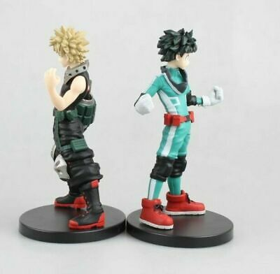 2 Pieza Figma Izuku Midoriya figura de acción My Hero Academia Toy Anime New Set