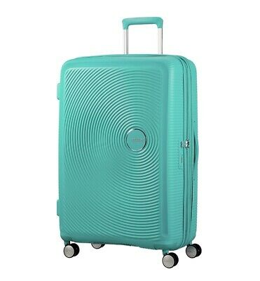 American Tourister Curio 80cm Large Expandable Spinner Mint Green