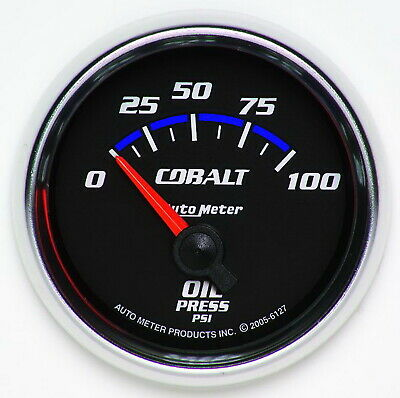 AutoMeter 6127 Cobalt (TM) Gauge Oil Pressure