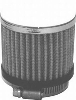 Chrome Clamp-On Filter Breather - 1 12 Hole