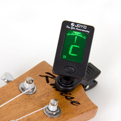 Digital Chromatic Clip-On Tuner For Acoustic Guitars Violin Ukulele Bass Tuners