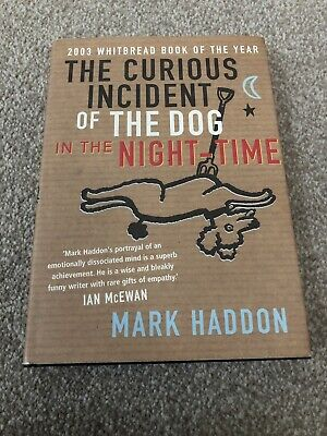 SIGNED MARK HADDON The Curious Incident of the Dog in the Night-Time HBK