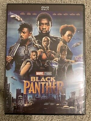 Black Panther DVD (Brand New, 2018) - Free USPS Shipping