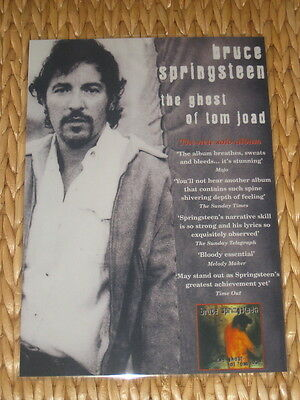 Bruce Springsteen - The Ghost Of Tom Joad  -  Laminated Promo Poster