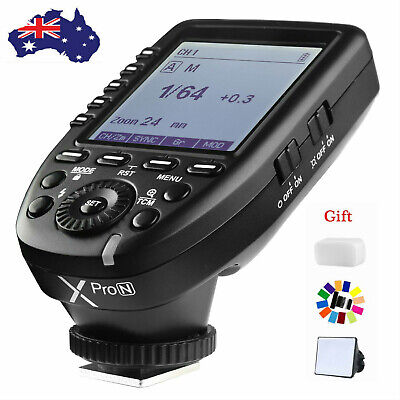 AU STOCK Godox Xpro-N 2.4G TTL Wireless Flash Trigger For Nikon AD200 V860II