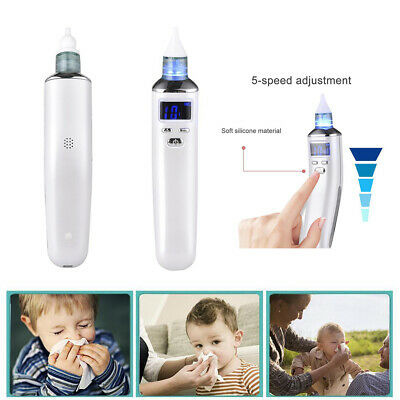 USB Itm Baby Nasal Aspirator Electric Nose Snot Sucker Nostril Cleaner Charging