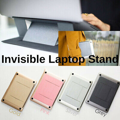 Comfortable Invisible Laptop Stand Seamlessly Integrated with Your Laptop NEW BO