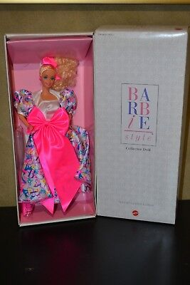 Brand New Barbie Doll 1990 Barbie Style Collectors Doll Special Edition