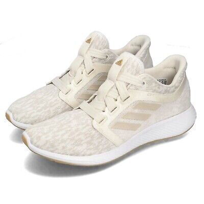 649151f3b49 adidas Edge Lux 3 W Raw White Gold Gum Women Running Casual Shoes Sneaker  D97112