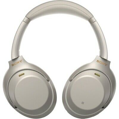 Sony WH-1000XM3 Wireless Noise Cancelling Headphones - Silver