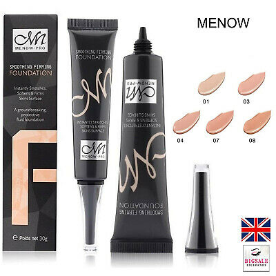 Menow Liquid Smoothing Firming Foundation Concealer Moisturizing Base 30g (P30)