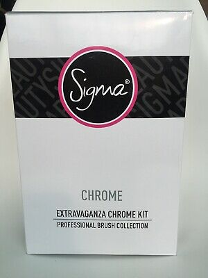 SIGMA Extravaganza chrome kit 29 brushes with case