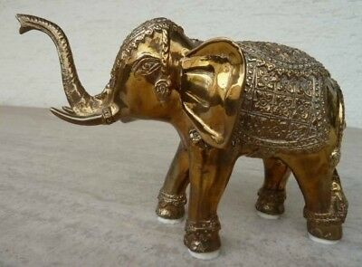 Elefant aus Messing ( brass ), Elephant from Thailand ( Siam ) !