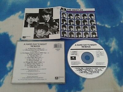 #The BEATLES - Hard Day's Night (Original Soundtrack, 1988) CD Made in Holland