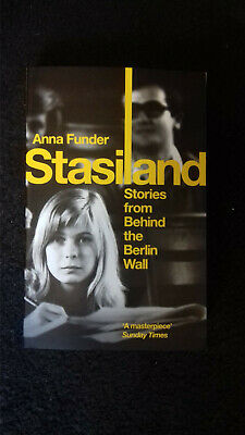 Stasiland: Stories from Behind the Berlin Wall by Anna Funder, NEW (Paperback)