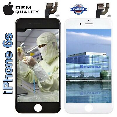 OEM Tianma® iPhone® 6s Replacement LCD Touch Screen Digitizer Black White