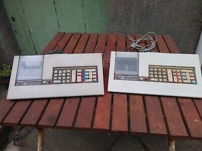 Vintage 2 anciennes calculatrices Olivetti logos 59