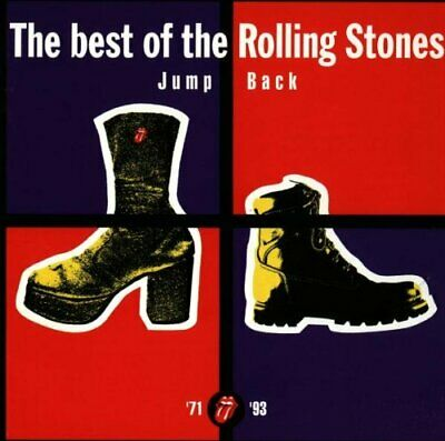 The Rolling Stones Jump Back 18 Track CD Best of 71-93 Greatest Hits Collection