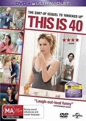 This Is 40 (DVD, 2013) REGION: 2+4- NEW AND SEALED-FREE POST IN AUSTRALIA