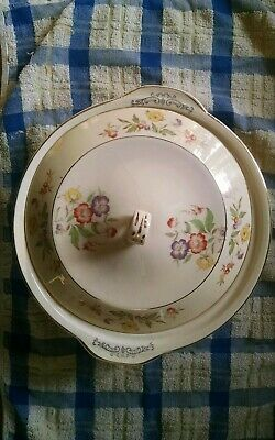 Vintage Paden City Pottery Duchess Covered Bowl Buttercup Pattern