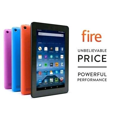 """Amazon Kindle Fire 7"""" Inch 8GB Wi-Fi Tablet  in Black"""
