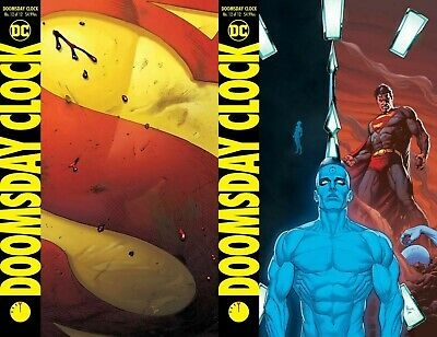 Doomsday Clock #12 (of 12) A&B Cover variant Set Ships FREE Ship Watchmen 12-18