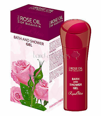 Rose Oil Of Bulgaria Bath And Shower Gel With Bulgarian Rose Oil