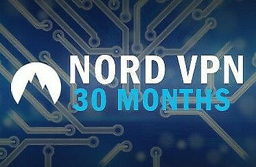 NordVPN Premium | 30 MONTHS Subscription | 30 MONTHS Warranty | Nord VPN account