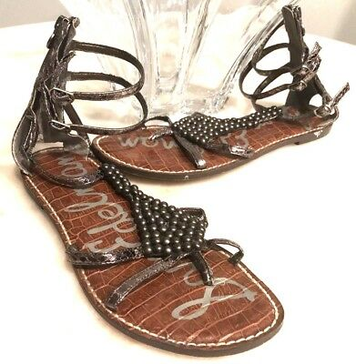 327a73ca0 CIRCUS BY SAM Edelman Riley Lace Up Gladiator Sandals Size 8 M US ...
