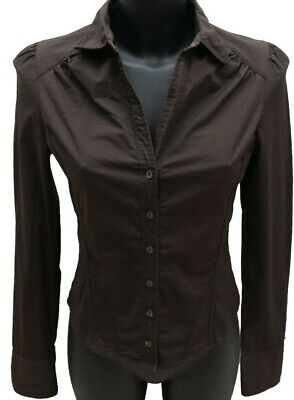 c6c4c5cb7a382b Ted Baker Ladies Smart Shirt Blouse Size 2 10 UK Long sleeves Tailored  Workwear