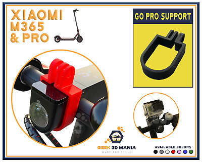 XIAOMI M365 PRO support Mounted GoPro Action Cam Accessoire trottinette scooter