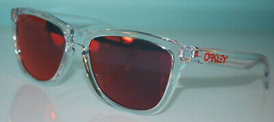 077d293955 Oakley Frogskins Crystal Collection Sunglasses OO9013-A5 Polished Clear  Torch