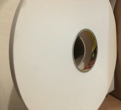 3M 4430 P White Acrylic Foam Double Sided Tape, 0.88mm Thick , 12mm x 66m