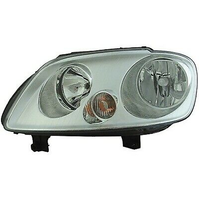 Right HELLA 1LL 009 449-041 Halogen Headlight Without bend lighting with bulbs