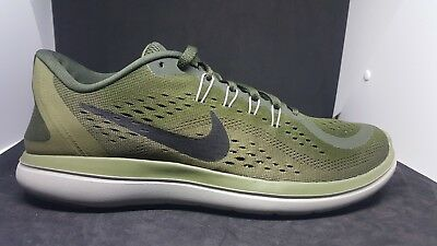 fe06b60f714 MEN S NIKE FLEX 2017 RN Running Shoes 898457 300 Sequoia