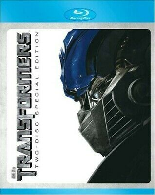 Transformers (Two-Disc Special Edition + BD Live) [Blu-ray], Very Good DVD, Shia