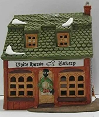 Dickens Village Building Dept Department 56 White Horse Bakery 1988 Retired