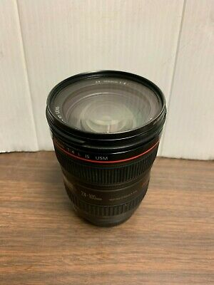 Canon EF 24-105mm F/4 L IS USM Wide Angle Zoom Lens