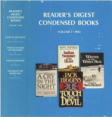 Readers Digest Condensed Books ~ Vol 1 1983 First Edition ~ HC w/DJ ~ Vintage