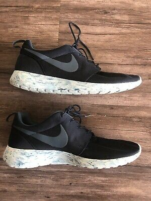 374a8d905401 NIKE ROSHE RUN QS DARK OBSIDIAN MARBLE PACK 633054-400 SIZE 11.5 Navy Blue  Shoes