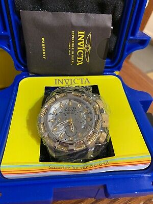Invicta 27238  Reserve 50mm Bolt Swiss Quartz Chronograph Meteorite Strap Watch