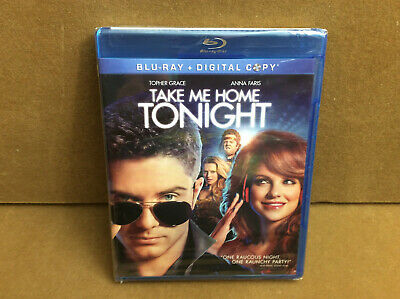 Take Me Home Tonight (Blu-ray+Digital, 2011, WS) Topher Grace, Anna Faris
