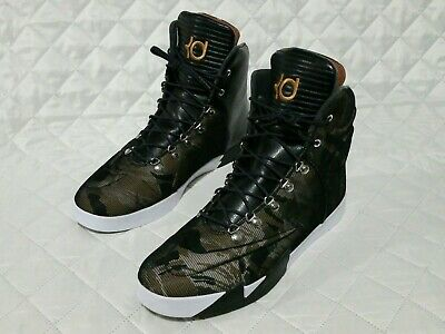 da18576df65 Nike KD VI 6 Mens Reflective Camo Lifestyle High Top Shoes 621177 900 Sz 13