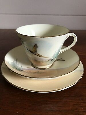 Vintage Royal Doulton The Coppice Trio Cup Saucer and Side Plate Four Available