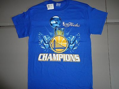 NWT Blue Golden State Warriors 2015 NBA Finals Champions Basketball T Shirt  M a16c2b69a