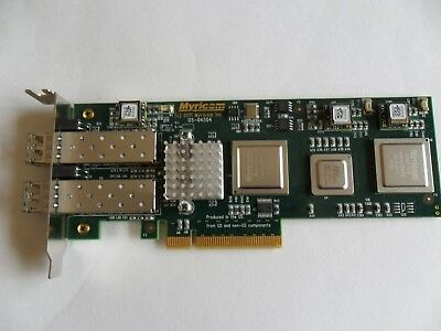 Myricom 10G-PCIE2-8C2-2S 2-Port 10Gb Network Ethernet Adapter - Low Profile