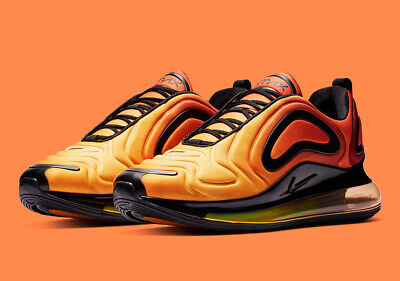 NEW NIKE AIR Max 720 Size 10.5 Sunrise AO2924 800 Shoes